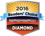 Diamond Winner Hamilton Community News Reader's Choice Awards